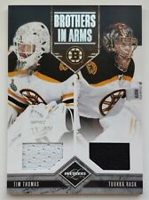 2011-12 Panini Limited Thomas-Rask 32/199 Double Jersey Card