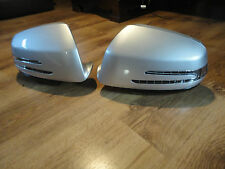 Mercedes C Class W204 LED Mirror Covers Silver / Pre Coat Or Black 2007-2009