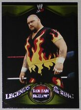 Bam Bam Bigelow WWE 2009 Topps Legends of the Ring Card #1 Wrestling Superstar