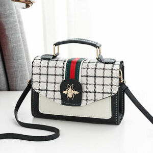 Women Fashion Mini Shoulder Messenger Bag Style-Gucci Female Handbag PU