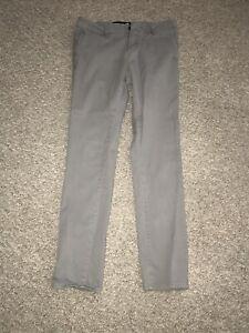 RSQ Chino London Skinny Jean Men's 29 X 32 Grey