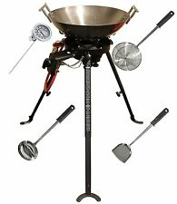 NEW SUMMERTIME BBQ PORTABLE CHINESE WOK BOTTLED LP LPG BUTANE GAS OUTDOOR RANGE
