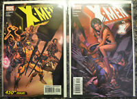 UNCANNY X-MEN (2-Book) Comic LOT with #450 451 (2004, Marvel) X-23 (NM+) 9.6-9.8