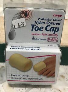 Pedifix Nylon Covered Toe Cap Large Podiatrist Choice
