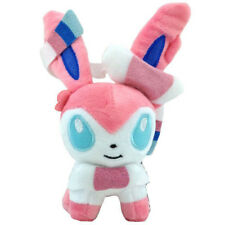 "Sylveon Nymphia 5"" Pokemon Intertwining Fairy Eevee Plush Stuffed Animal Doll"