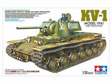 Tamiya 1/35 KV-1 Model 1941 Early Production Russian Heavy Tank # 35372