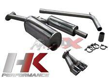 BULL-X Abgasanlage - Seat Ibiza V (6J) - 1.4 TSI + Cupra - 2x80mm - EWG - ABE