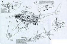 Aircraft Plans Printable home built experimental airplane canard Longez pdf diy