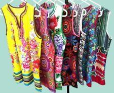 Regular Size 100% Cotton Multi-Coloured Tops & Blouses for Women