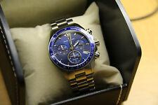 Claude Bernard Men's 10212 3B BUIN Chronograph Swiss Quartz Silver Watch