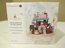 Dept 56 Seasons Bay - Fresh Seafood By The Shore - 53604 MINT in Box