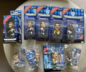 Corinthian 1995 England euro96 Arsenal, 4 Blister Packs, 1 Window Box, 4 Loose.