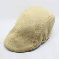 Unisex Men's Golf Flat Duckbill Newsboy Gatsby Ivy Hat Baker Driving Cabbie Cap
