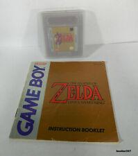 Gameboy Game Boy Zelda Link's Awakening w/ Manual And Case SHIPS FAST See Pics