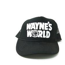 Vintage 90's Wayne's World Hat Snapback Trucker Cap Movie Promo