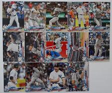 2018 Topps Update New York Yankees Team Set 14 Baseball Cards