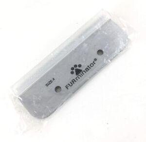 """Furminator Replacement Blade Size 4 Rake DeShedding Tool 4"""" Inch Dog Cat"""