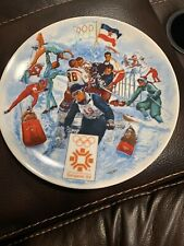 THE OFFICIAL 1984 WINTER OLYMPIC GAMES PLATE No. 8523A  Sarajevo, by Viletta