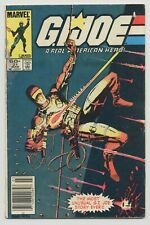 GI JOE #21 1984 MARVEL SILENT SNAKE EYES ISSUE FIRST STORM SHADOW