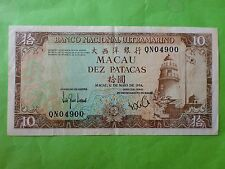 Macau 10 patacas 1984, QN 04900