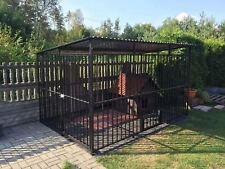 Hundezwinger Hundekäfig 200x200x175 cm Käfig inkl. Aufbau