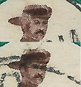 Southern Rhodesia 1943 2d Mounted Pioneer sg 61 Hat Brim Retouch/Narrow stamp us