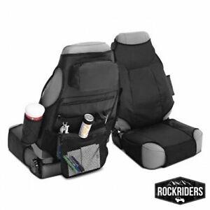 Smittybilt Katch-All Front Seat Covers/Organizers (Pair) 76-17 Jeep CJ TJ LJ JK