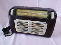 Rara Antica RADIO EPOCA Valvole Comodino MARELLI 135 del 1953 Ottima FUNZIONANTE