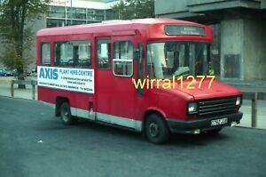 Original Bus negative Midland Red South Sherpa D762JUB, Ex Yorkshire Rider