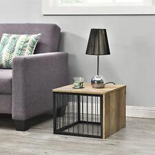 [en.casa] Beistelltisch 45x45x35cm Couchtisch Konsole Holz-Optik Nachttisch