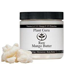Raw Mango Butter 100% Organic Natural Pure 8 oz. Jar UNREFINED Body Butter