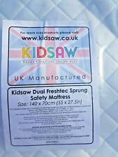 Kidsaw 140x70cm Junior Sprung Deluxe Mattress