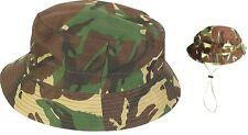 Onorevoli SAS sopravvivenza Bush Cappello Militare Verde Mimetico Militare SUN TREK Bucket Hat
