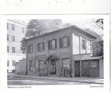 """*Postcard-""""Birth Place of Girl Scouts"""" (1st meeting Here) *Savannah GA. (#123)"""