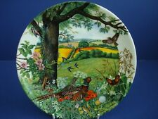 WEDGWOOD COUNTRY PANORAMA SERIES MEADOWS AND WHEATFIELDS  PLATE