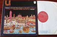 VIVALDI VIOLIN CONCS LP MICHELUCCI PHILIPS 6580007 EX- COTOGNI VICARI