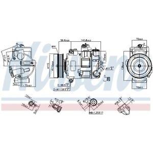 1 Kompressor, Klimaanlage NISSENS 890633 passend für AUDI SEAT SKODA VW