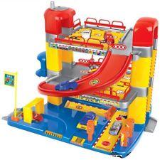 Parkgarage mit 3 Ebenen Parkhaus Autogarage 6 Autos Spielzeug Tankstelle Garage