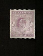Great Britain 1902-11 Sc# 139 Stamp, Vf App, Gum Crease, Pressed.