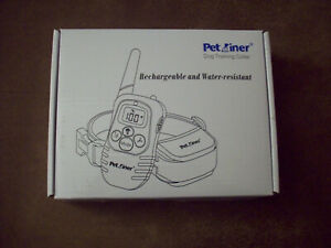 Petrainer PET998DRB1 Rechargeable and Rainproof 330 yd Remote Dog Training Shock