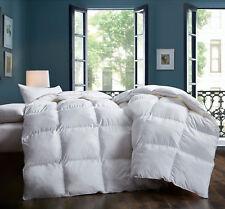 Premium Goose Comforter King size All season duvet insert warm & soft