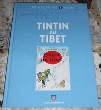 Archives TINTIN ET MILOU, TINTIN AU TIBET Éditions Moulinsart, reliure tissu