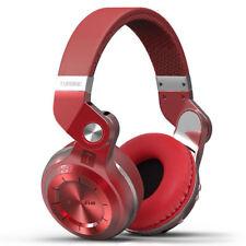 Bluedio T2S Bluetooth Wireless Headphones - Red