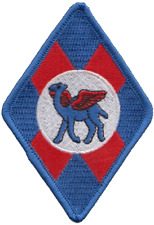 No. 45 (R) Squadron Royal Air Force RAF Diamond Embroidered Patch