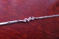 Tolles 925 Silber Armband Zirkonia Designer