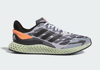 ADIDAS 4D 1.0 ORANGE| WHITE, BLACK & CORAL Trainers All Sizes Limited Stock