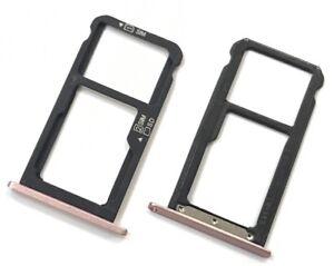 Original Huawei P9 Lite Smart Nano Sim Karten Halter Micro SD card Tray Pink