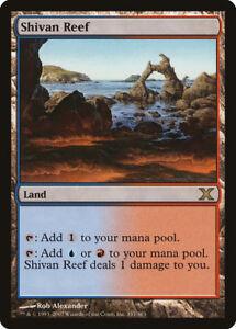 Brisants shivâns - Shivan Reef - Black Borders - Bords Noirs - Mtg