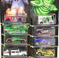 1/64 HOT WHEELS GHOSTBUSTERS SET OF 8