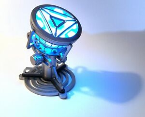 Tony Stark Iron Man Mk43 Arc Reactor With LED Light